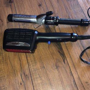 Conair Curling Iron & Hair Dyer